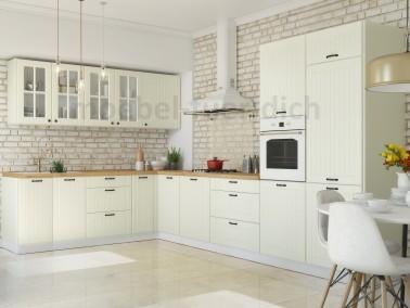Landhausküche LORA Beispielkonfiguration beige