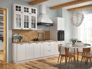 Landhausküche LORA Bespielkonfiguration weiß