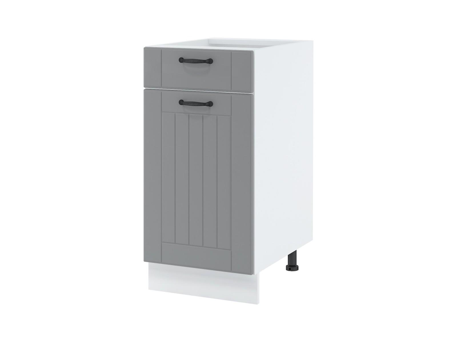 Unterschrank 40 cm| eine Schublade und eine Tür