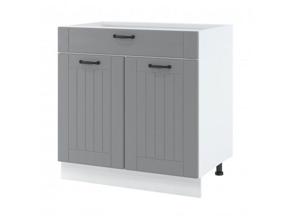 Unterschrank 80 cm| eine Schublade und zwei Türen