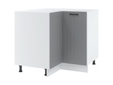 Eck-Unterschrank 90x90 cm zwei Türen