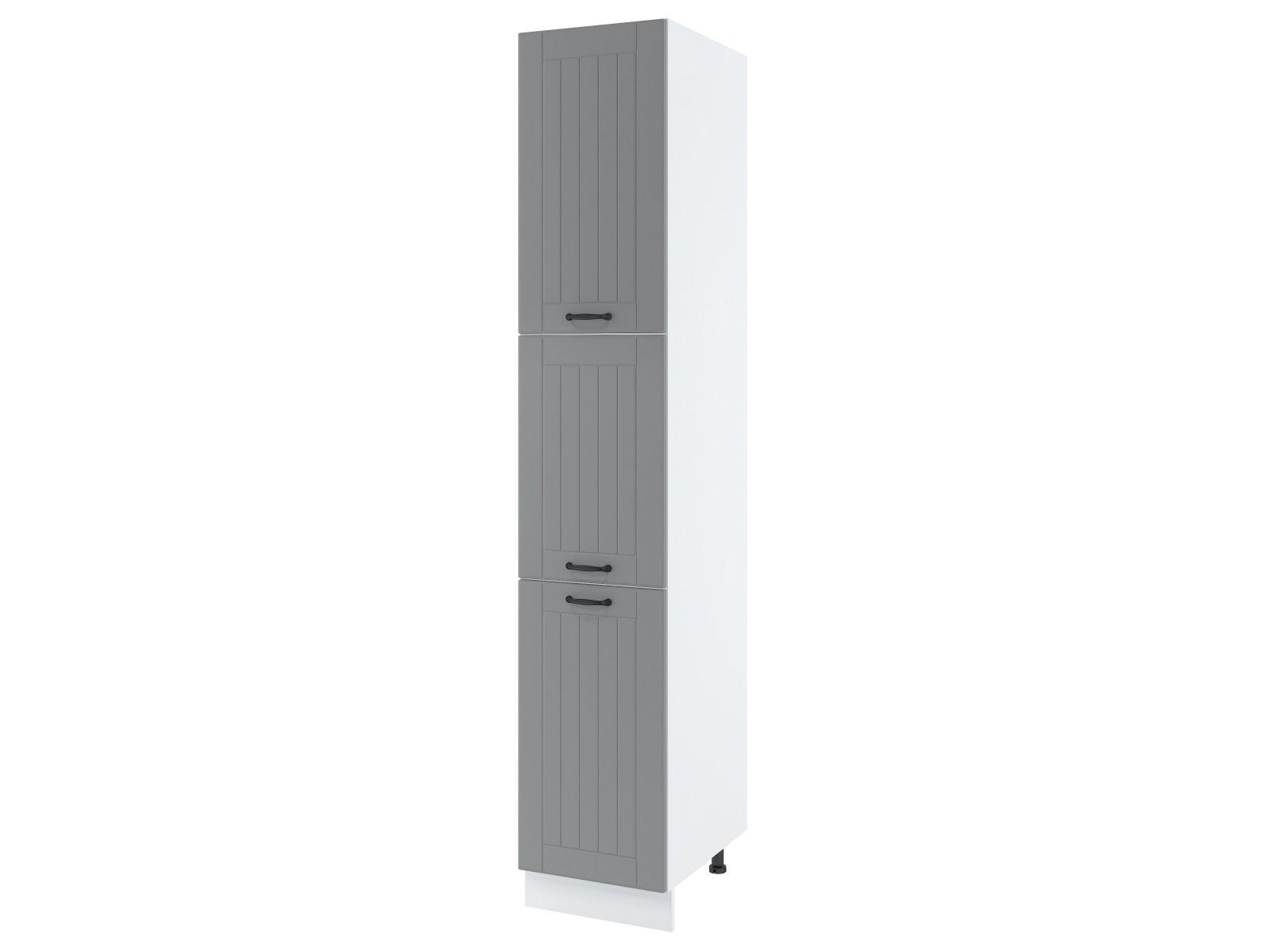 LORA SPD4 Hochschrank mit drei Türen 40 cm