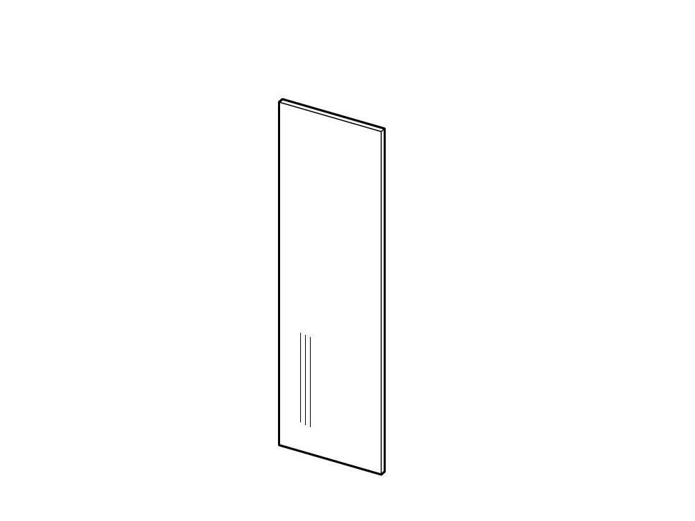 LORA PANEL 203|7/56 Seitenblende für Hochschränke| aus dem Frontmaterial
