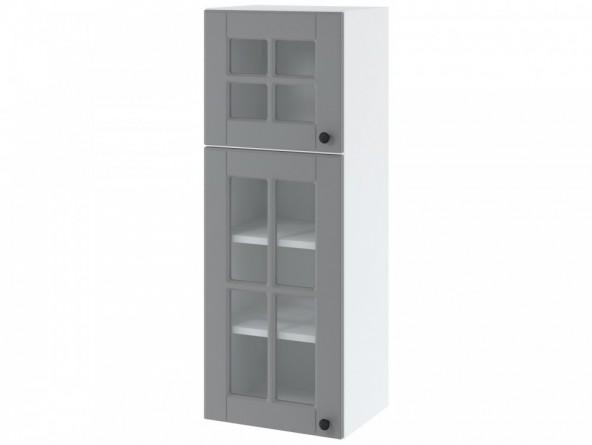 LORA WWW 4/108 Hängeschrank hoch 40 cm| zwei Türen mit Glas
