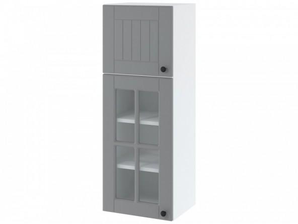 LORA WWP 4/108 Hängeschrank hoch 40 cm| zwei Türen| untere Tür mit Glas
