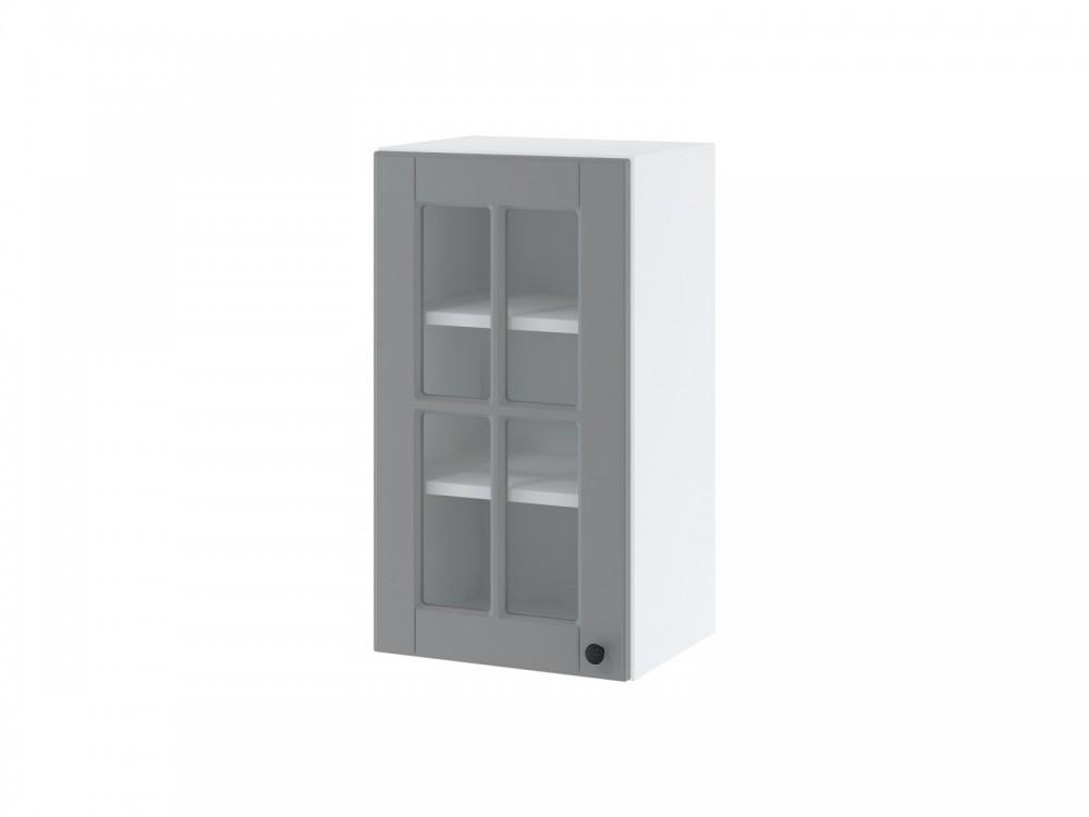 LORA WW 4/72 Hängeschrank 40 cm| eine Tür mit Glas