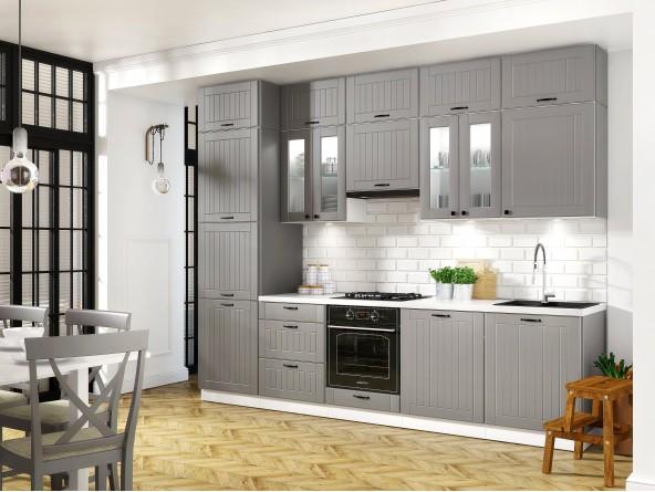 Küche Lora - Beispielkonfiguration grau