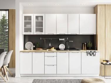 Küche Zoya Beispielkonfiguration weiß matt