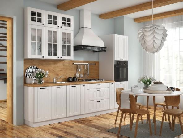 Landhausküche Lora extra hoch - Beispielkonfiguration