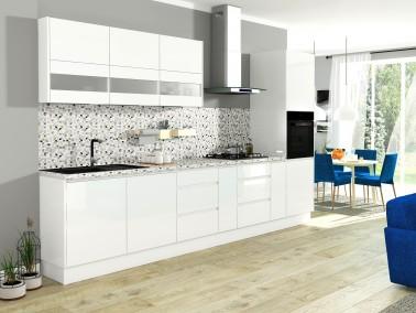 Küche Campari -Beispielkonfiguration Hochglanz Weiß