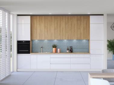 Küche Campari -Beispielkonfiguration extra hoch