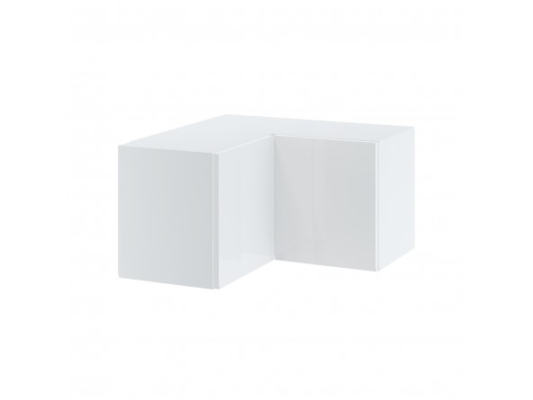 CAMPARI WNPP 65/65/36 Hängeschrank, Eckschrank 65x65 cm, Höhe 36 cm, zwei Türen