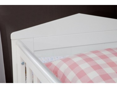 Babybett 120x60 cm Marseille MDF von Pinio - Details