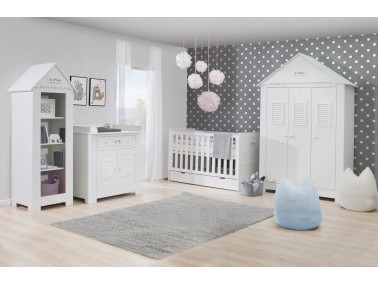 Marseille MDF Babyzimmer mit Kombibett - Beispielsbild