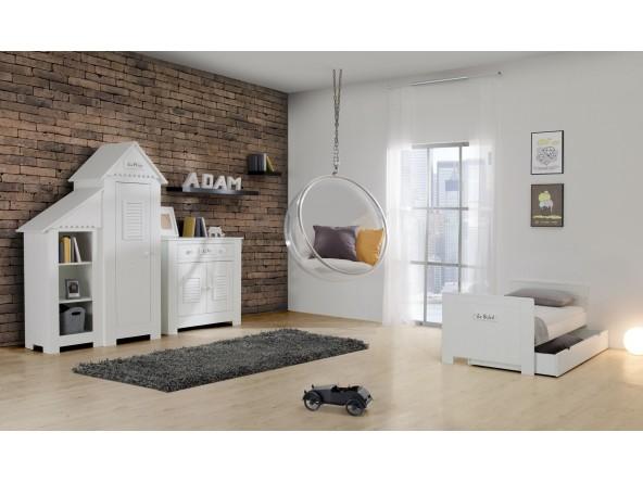 Marseille MDF Kinderzimmer mit Kombibett - Beispielsbild