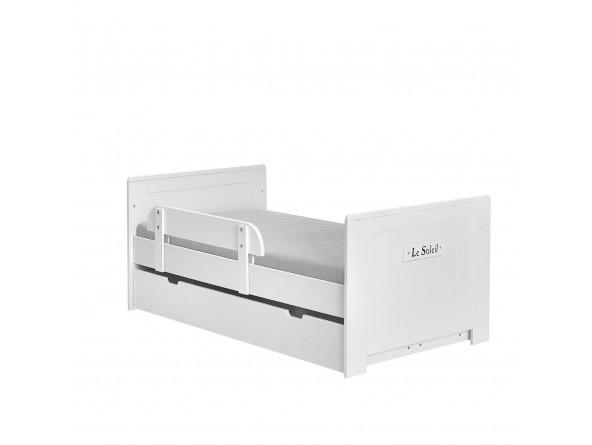 Kombibett Blanco 140x70 cm mit Rausfallschutz