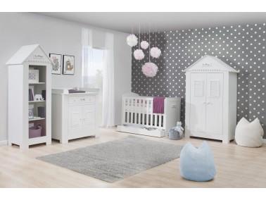 Marseille - MDF Babyzimmer mit zweitürigem Kleiderschrank