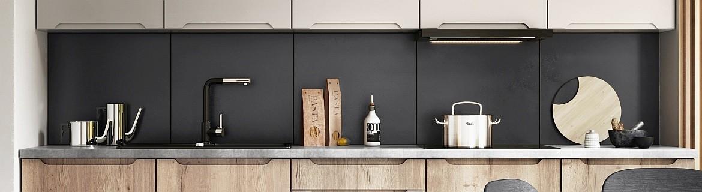 Grifflose Küche ZOYA | Moderne und Grifflose Küchenzeile
